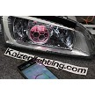 Chrome/OEM plus color, Demon eyes, Bluetooth Controller,  Honeycomb Etching